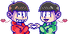OsoChoro Couple by Kiss-the-Iconist