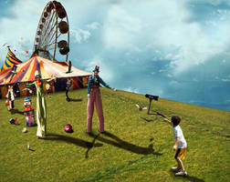 mundane circus by orbitosu