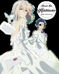 [Render #8] Violet Evergarden by Kiddblaster