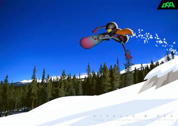 Whistler Shred Betty Jen Masterson by daanton
