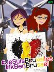 #JeSuisBruxelles #IkBenBrussel #PrayForBelgium by daanton