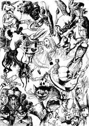 Alice in Wonderland by logan4876