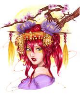 :COM: Red Queen by Linelana