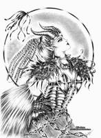 .Oc. The Dragon Witch by Linelana