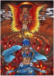 ~ The Rising Phoenix ~ by Linelana