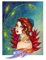 :Com:  A Beautiful Trap  by Linelana
