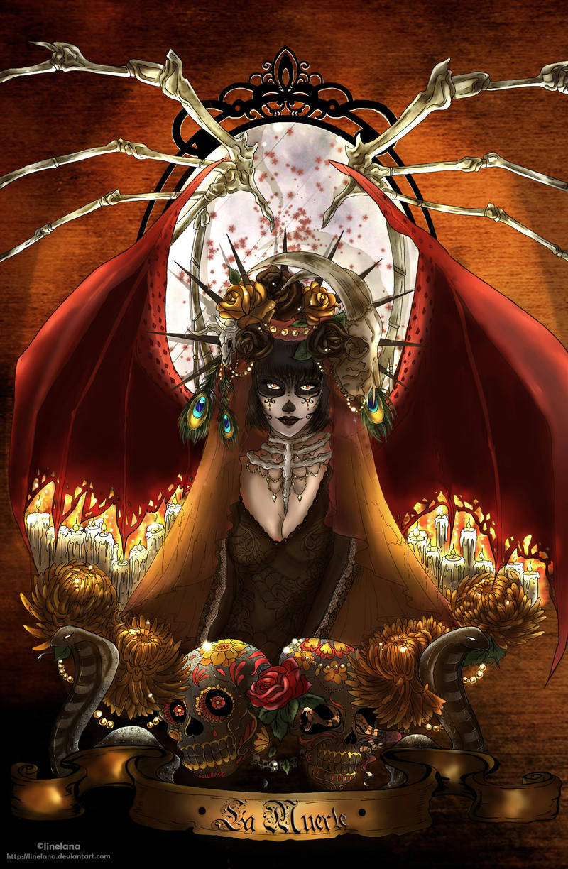 La Muerte by Linelana