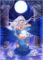 :AT: Moon Sorceress by Linelana