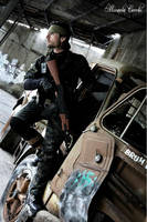 snake aka big boss metal gear solid 3 by HitoCosplay