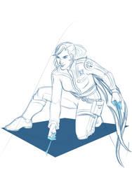 DGM: Kyri Activation sketch by cookyy