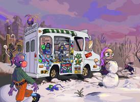 The Loneliest Ice Cream Truck by bimshwel