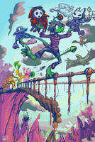 a dopey acrobat by bimshwel