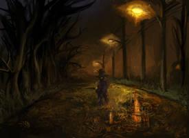 a clod in the dark by bimshwel