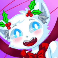 Christmas Godcat Icon by Hanna-Diana-Magic
