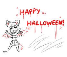 Happy Halloween! by Hanna-Diana-Magic
