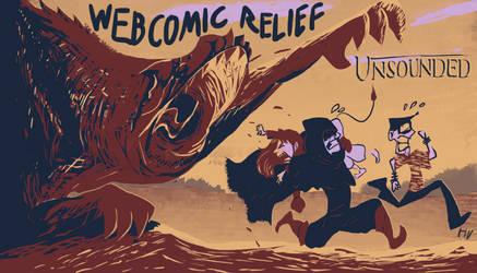 Webcomic Relief - Unsounded by HugoJunstrand