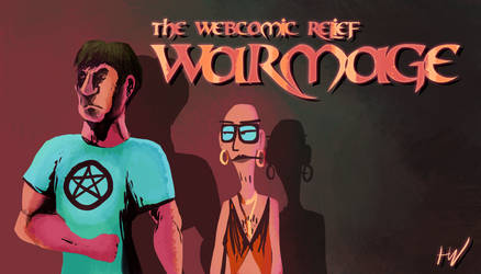 Webcomic Relief - WarMage by HugoJunstrand