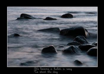 It becom a habit .. by loria