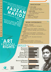 CV Design by Aishama