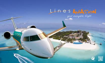 Lines Aviation by Aishama