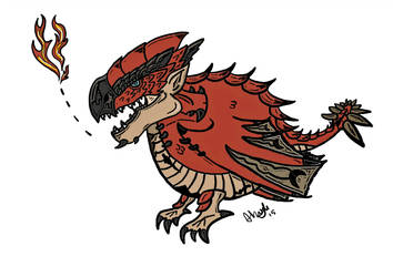 Little Fat Rathalos by Abizabi