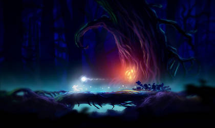 Ori and the Blind Forest by ElluraReed