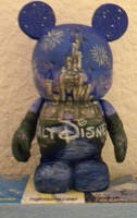Disney Vinylmation - Castle by whatevah32