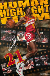 Dominique Wilkins by whatevah32