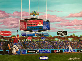 Dodger Stadium by whatevah32