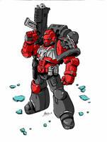 Iron Dragons: Marine color by NachoMon