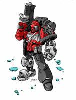 Mechanized Dragon by NachoMon
