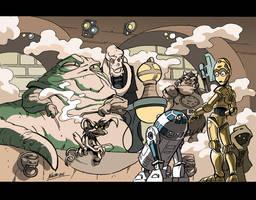 The message, Artoo... by NachoMon