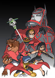 Disney Heroes by NachoMon