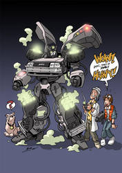 Timebot colored by NachoMon