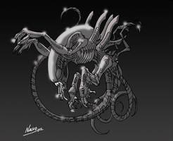 Xenomorph2 by NachoMon