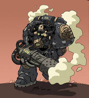 Rogue Trader marine by NachoMon