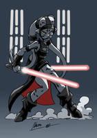 Twi Lek Dark Apprentice by NachoMon