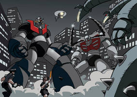 Mazinger: Super Robot Alert by NachoMon