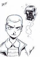 Inktober5: Eleven by NachoMon