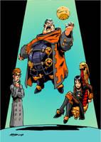 The Baron master plan by NachoMon