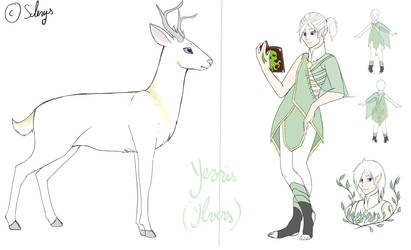 Yevris ( Ylvers) Reference by Scherys
