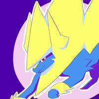 Mega-Manectric by RadicalRaiju