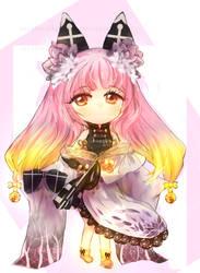 [CLOSED] Auction Adopt Female Kemonomimi by sarahwidiadopts