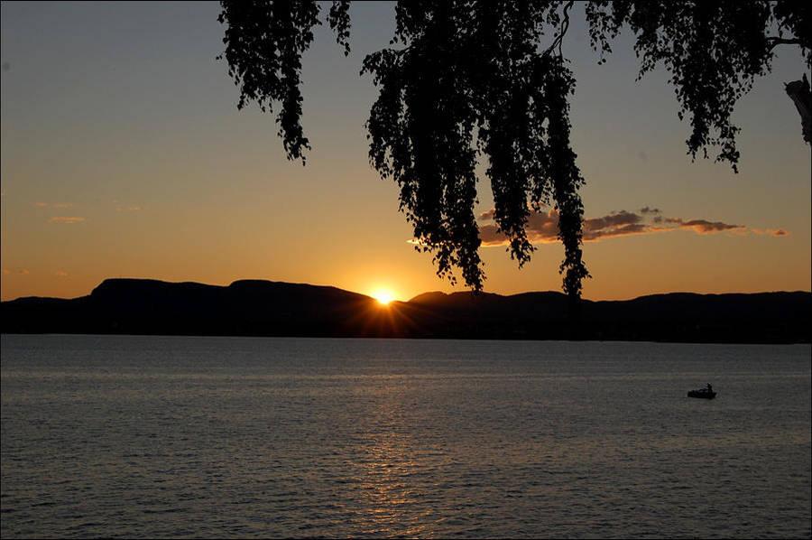 Norway sunset by KaritaArt