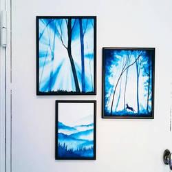 Forest serie  by KaritaArt
