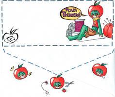 TeamThrash envelope contest by Nogojo