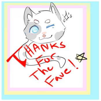 obligatory Thanks For Fav by Qeeeeep