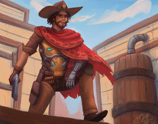 Mccree by stallout