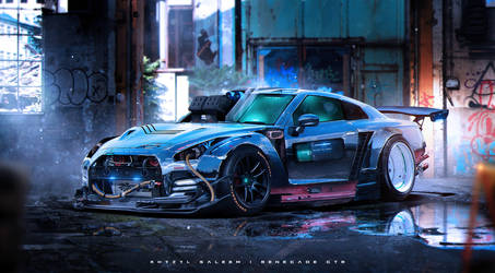 Gojira Gone Rogue by The--Kyza
