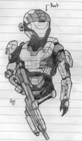 Halo:Reach-Kat by Izaak94